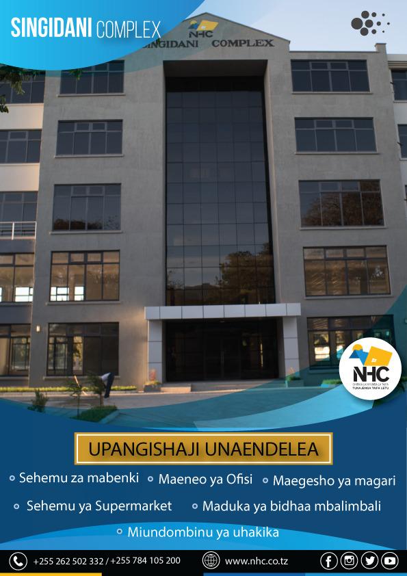 NHC SINGIDANI COMPLEX, SINGIDA - UPANGISHAJI UNAENDELEA