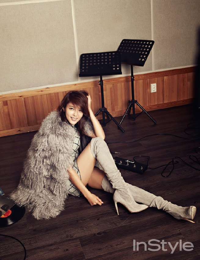Chae Jung Ahn - InStyle November 2014