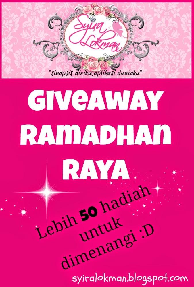 http://syiralokman.blogspot.com/2014/06/giveaway-ramadhan-raya-by-syira-lokman.html
