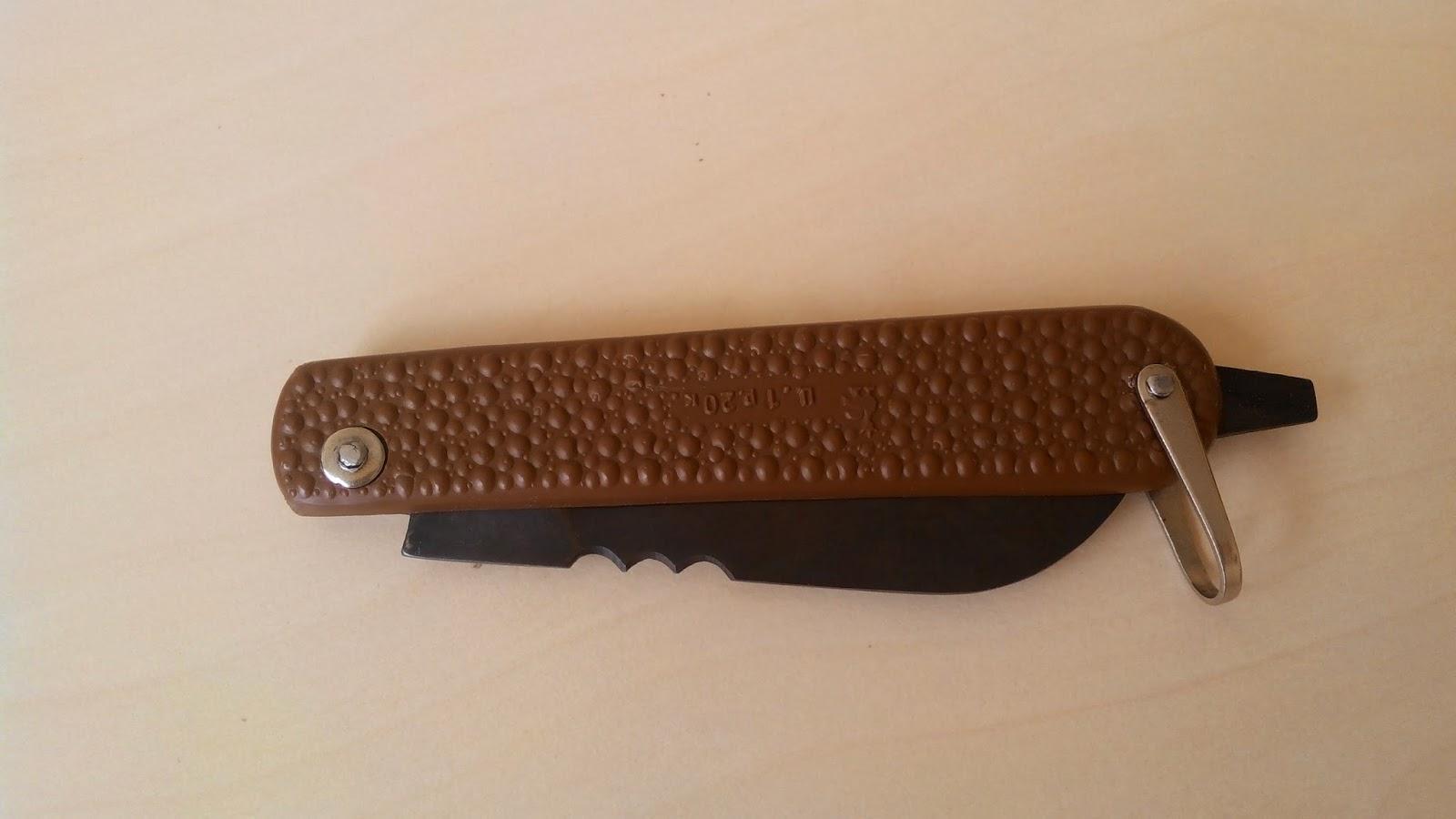 Нож электрика, монтера, сапера и связиста