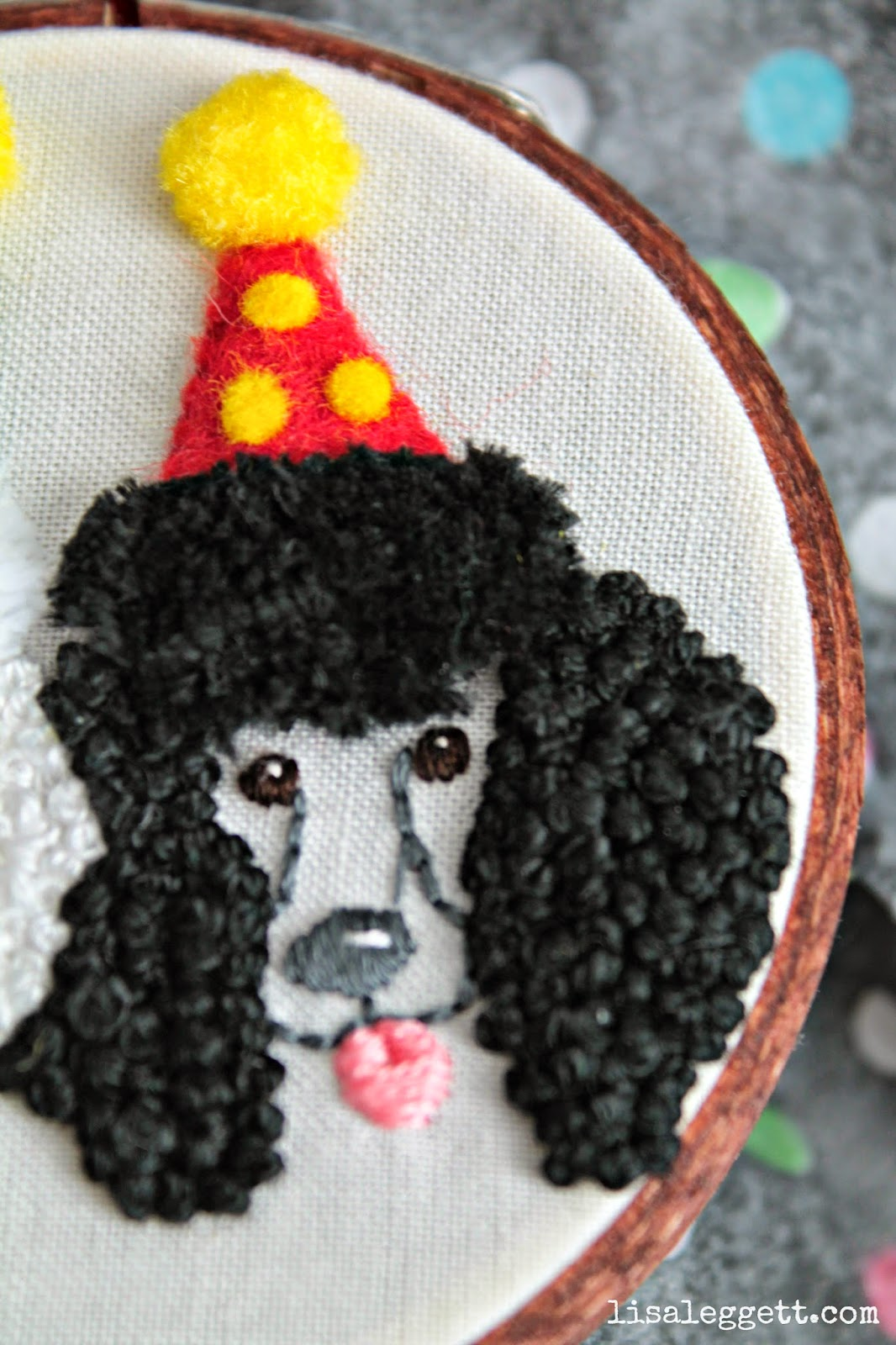 Riley the Party Poodle by Lisa Leggett