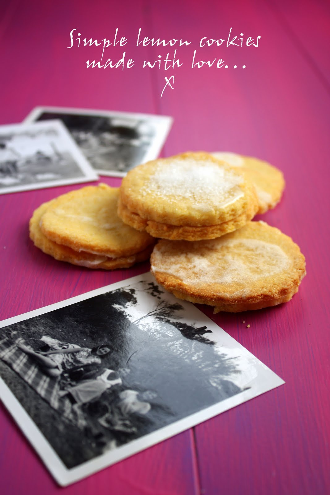 Lemon polenta cookies | FoodOpera
