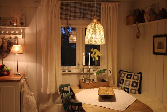 Cissemosse: kjøkkenet på hytta