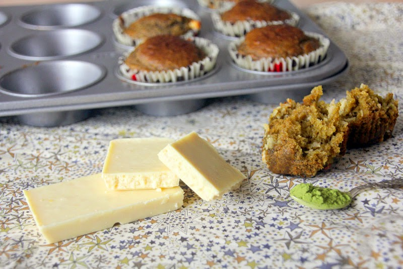 Happy Us Book - Recette Muffins Thé Matcha