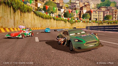 Cars 2: The Video Game Screenshot