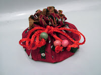 Circular Jewelry Pouch with Multiple Pockets