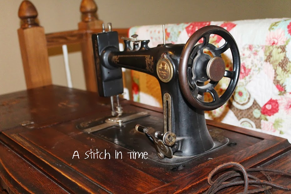A Stitch In Time Treadle Cool Goodwill Sewing Machine