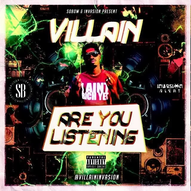 Villain - Are You Listening OUT NOW