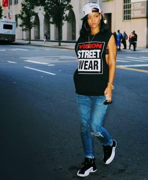 แฟชั่นสำหรับผู้หญิง แฟชั่นไอคอน Rihanna