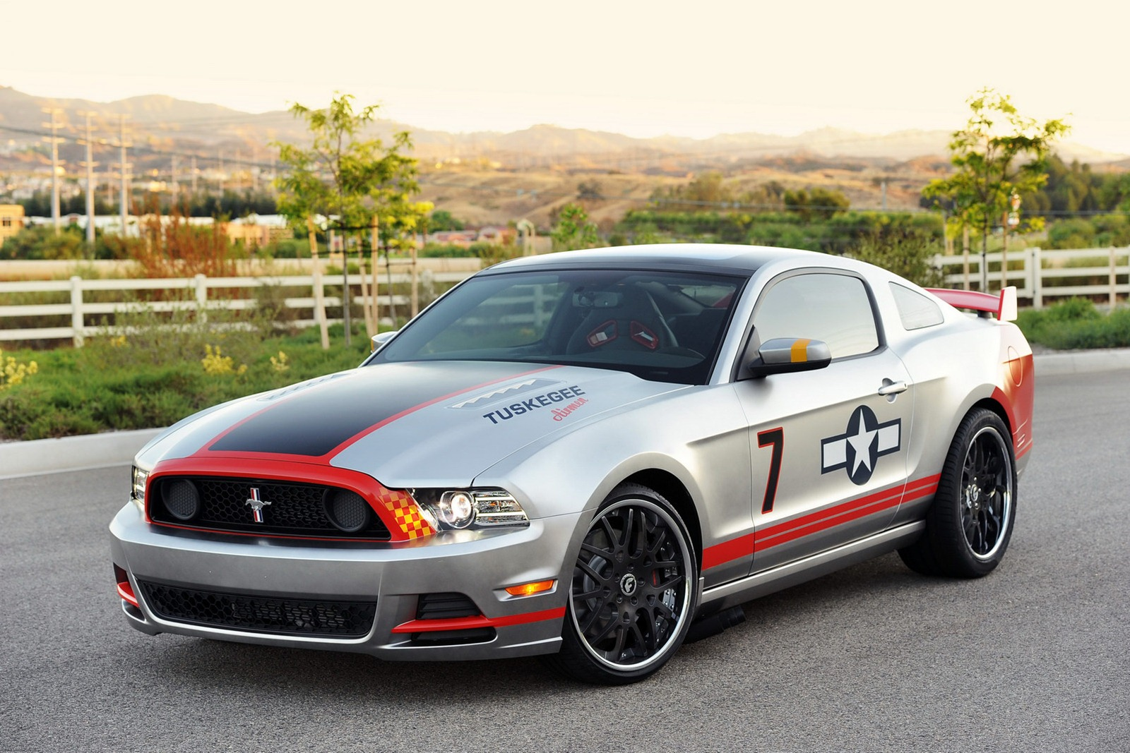 2013 ford mustang gt red tail fighter aircraft. Black Bedroom Furniture Sets. Home Design Ideas