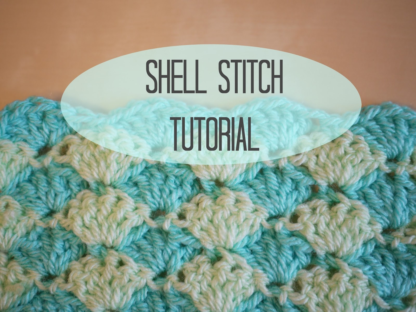 Crochet shell stitch tutorial - Bella Coco by Sarah-Jayne