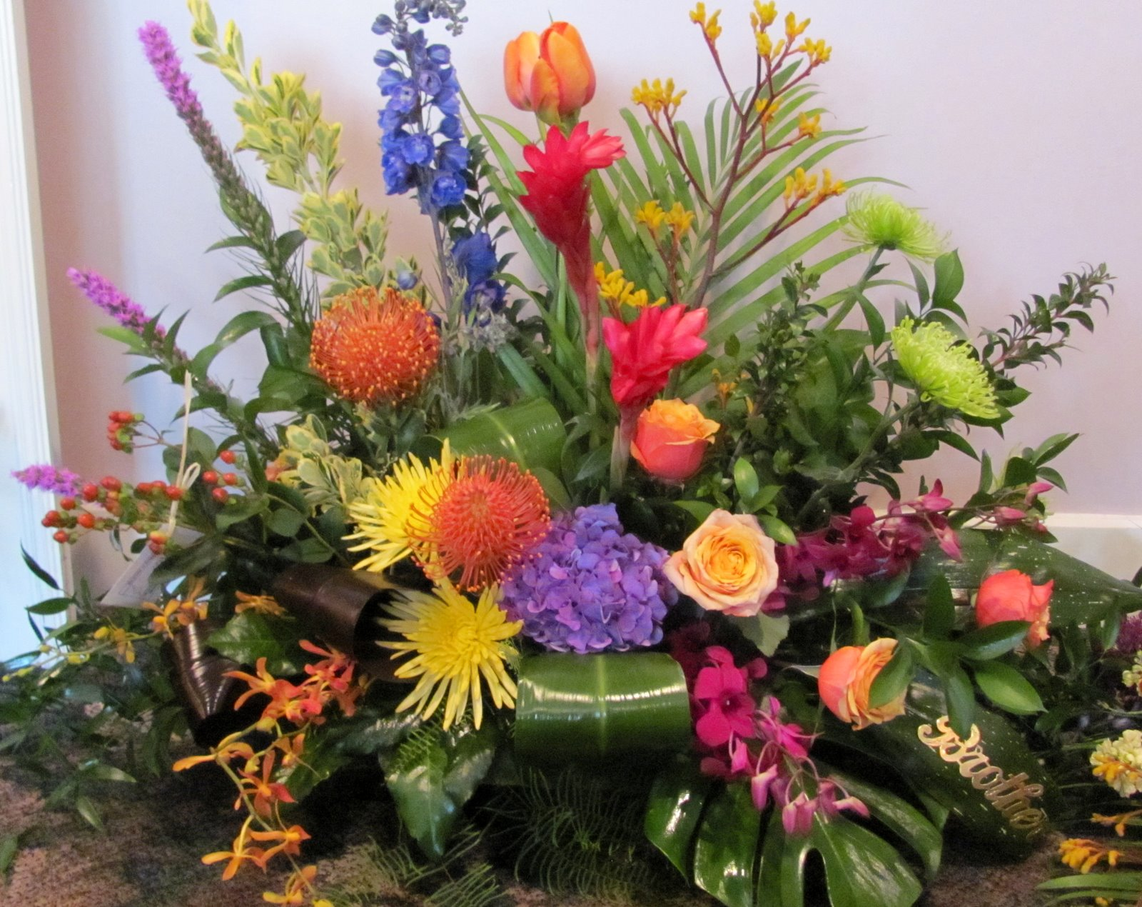 Worcester florists Sprout Spring Funeral Flowers