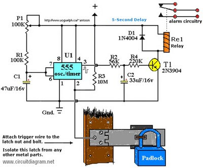 circuit diagram latest touch alarm system circuit schematic rh aboutcircuitdiagram blogspot com security system circuit diagram security system circuit diagram