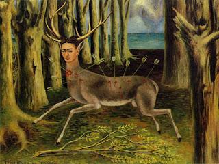 """Фрида Кало. Картина """"Маленькая лань"""""""