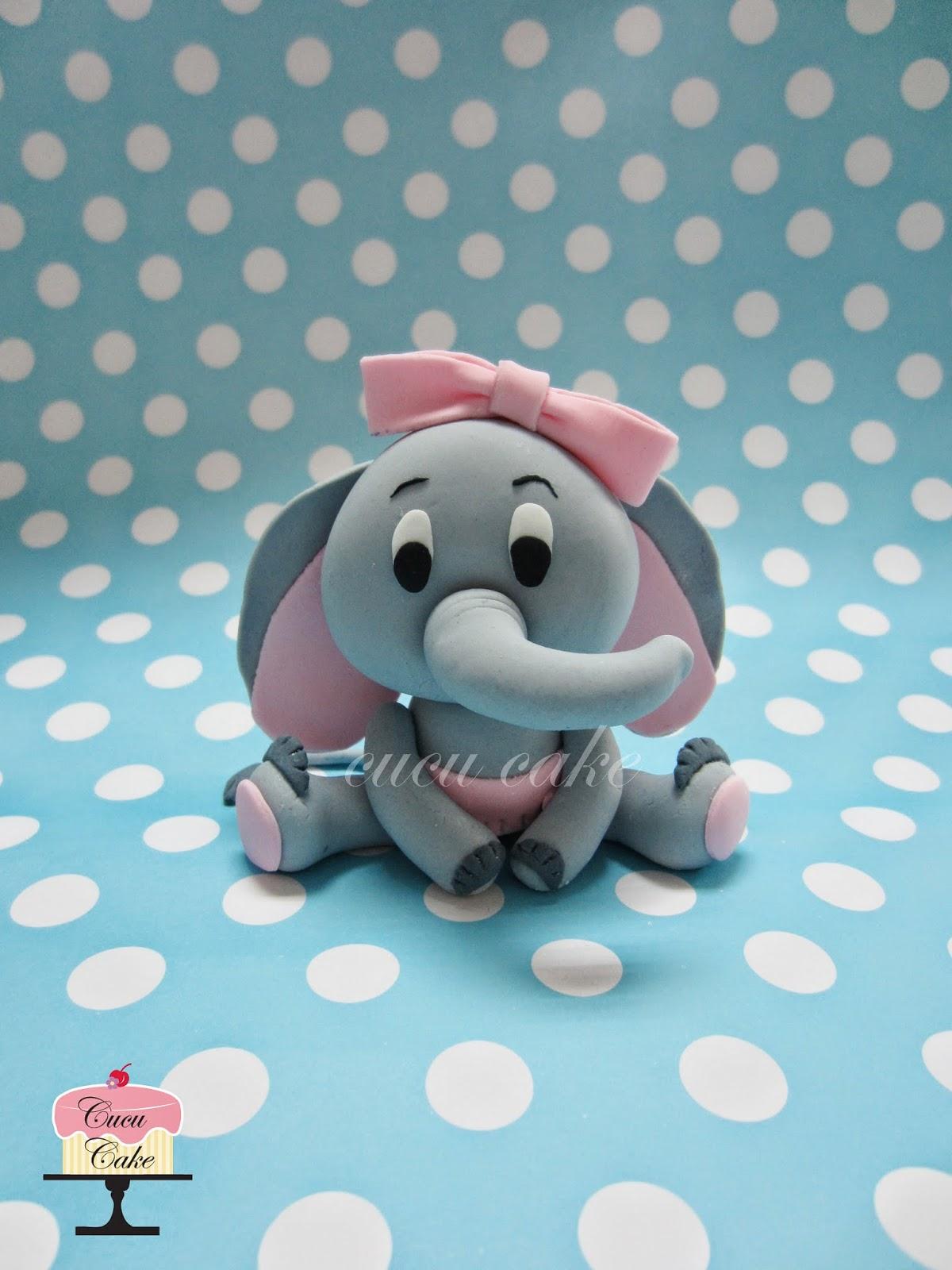how to make a flat fondant elephant