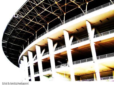 GBK Stadium, Indonesian Stadium, Biggest Stadium In Indonesia, Stadion Gelora Bung Karno, Bung Karno, Gelora , Gelora Bungkarno Stadium