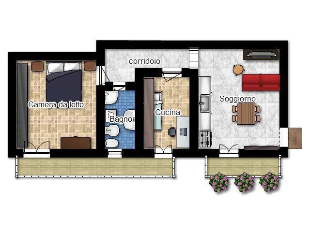 La casa in vetrina soluzioni salvaspazio creare una for Arredare cameretta 7 mq