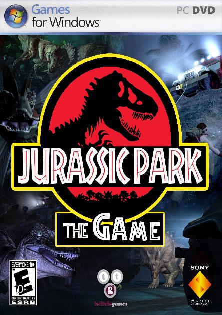 Como os prometi el juego en 3d de parque jurasico Jurassic+Park