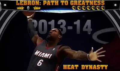 NBA 2K14 LeBron Path to Greatness: Heat Dynasty Spoiler