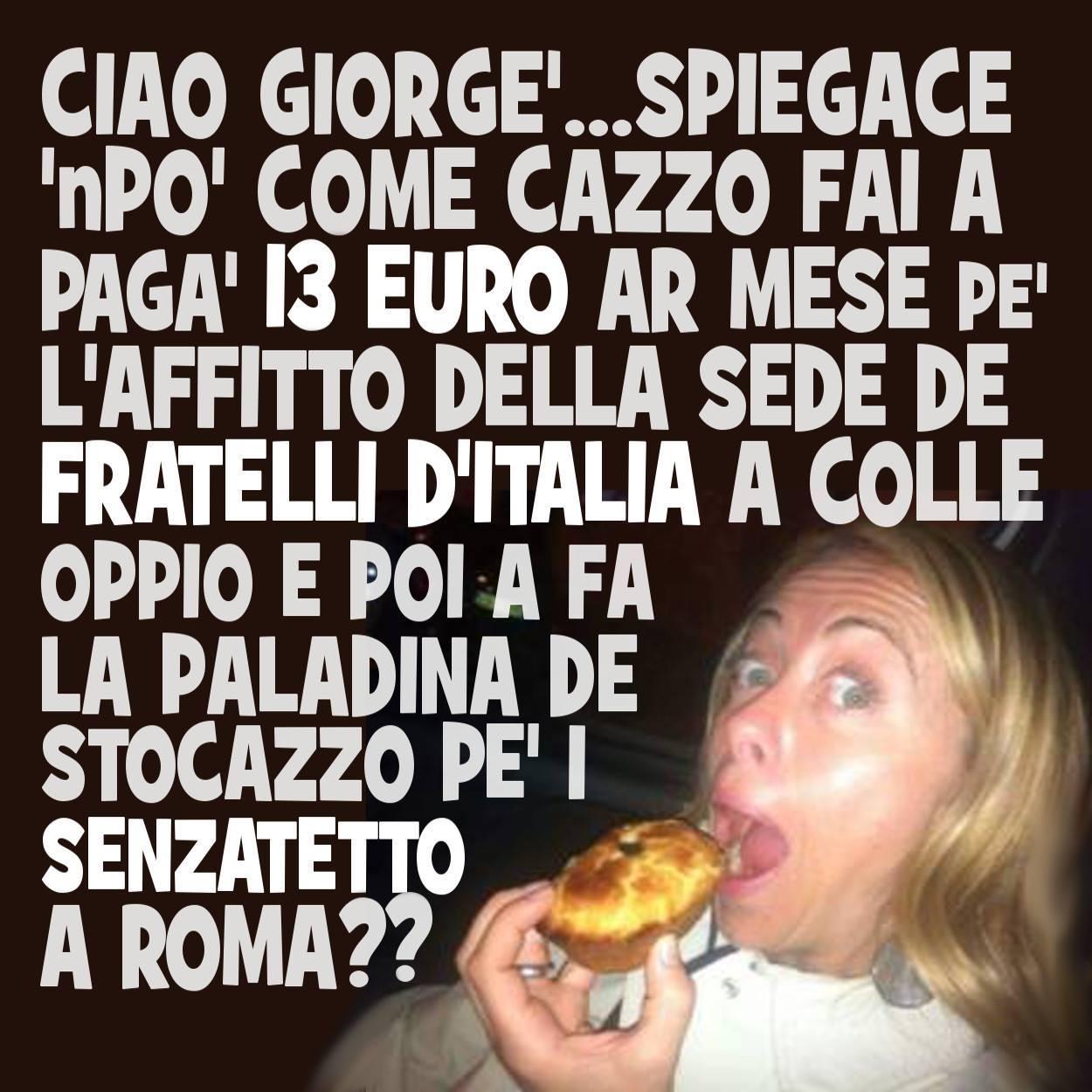 CV Giorgia Meloni e Fratelli d'Italia