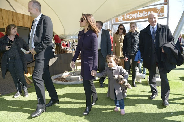 Princess Marie And Prince Joachim Visits Aalborg Zoo