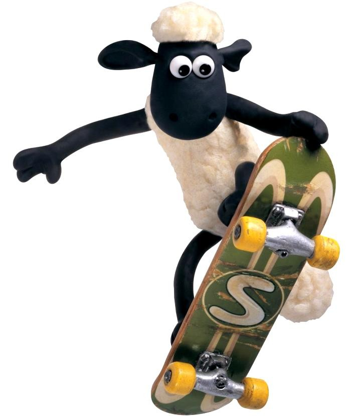 Shaun the Sheep, Gambar Kartun 1