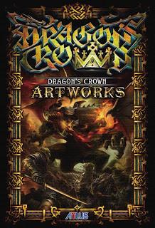 dragons crown art book pre order bonus Dragon's Crown (PS3/PSV)   Box Art & Art Book