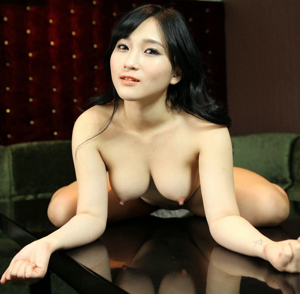 Hot model nude korean girls