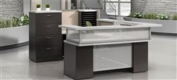 Global Zira Collection Reception Desk