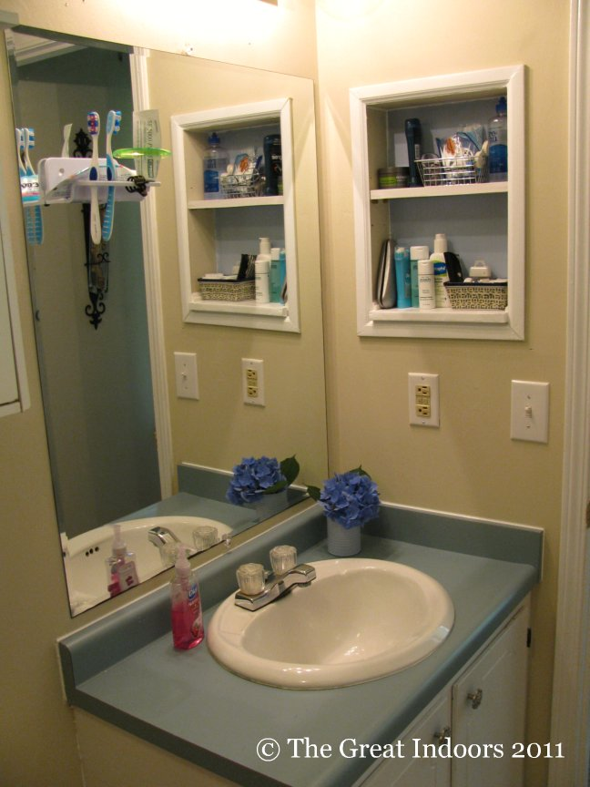 Modren Bathroom Nook Size Cozy Inside Decorating