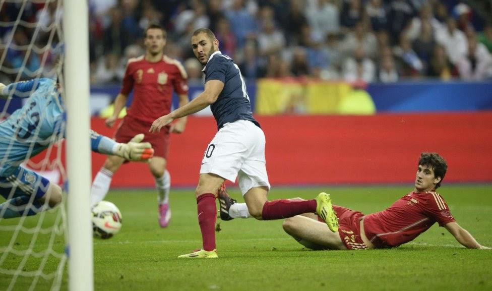 FRANCE vs SPAIN 0 -1