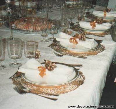 Decoracion mesa Navidad Servilletero 9