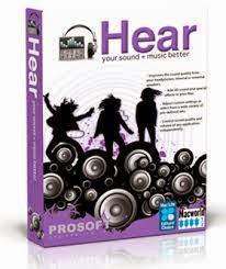 برنامج prosoft hear 2014 لرفع من كفائة الصوت للكمبيوتر