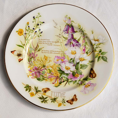 Caverswall China June month plate by Selep Imaging