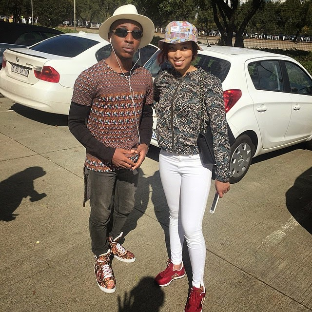 Frank Edwards Shows Off Swag, Hangs Out With Pastor Chris' Daughter Sharon Oyahkilome