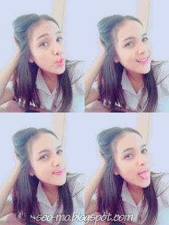 Foto Selfie Gledys Veronica Terbaru
