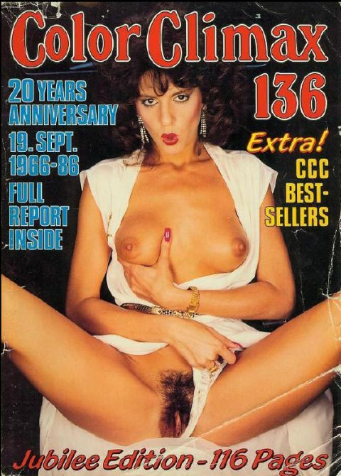 Vintage Porn Magazines Color Climax 136 1986 | CLOUDY GIRL ...