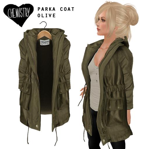Chemistry Parka Coat