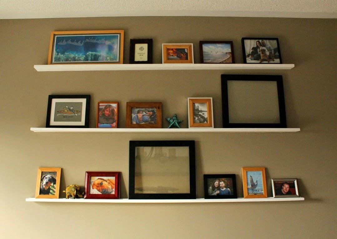 ideas picture shelves