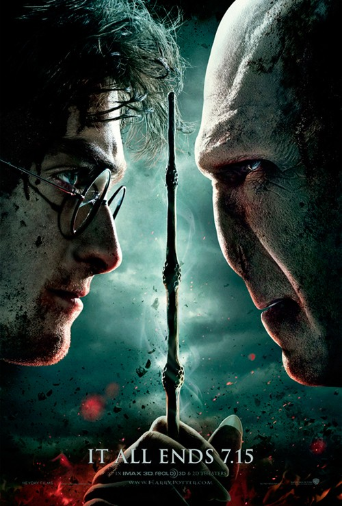 harry potter 7 poster. new harry potter 7 poster. new