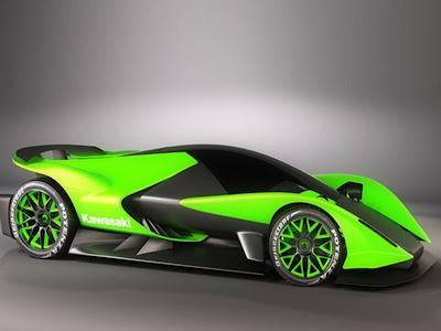 Kawasaki Sport Cars Zx Hypercar Concept By Sabino Leerentveld
