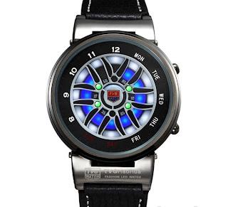 Jam tangan TVG Kulit 8907