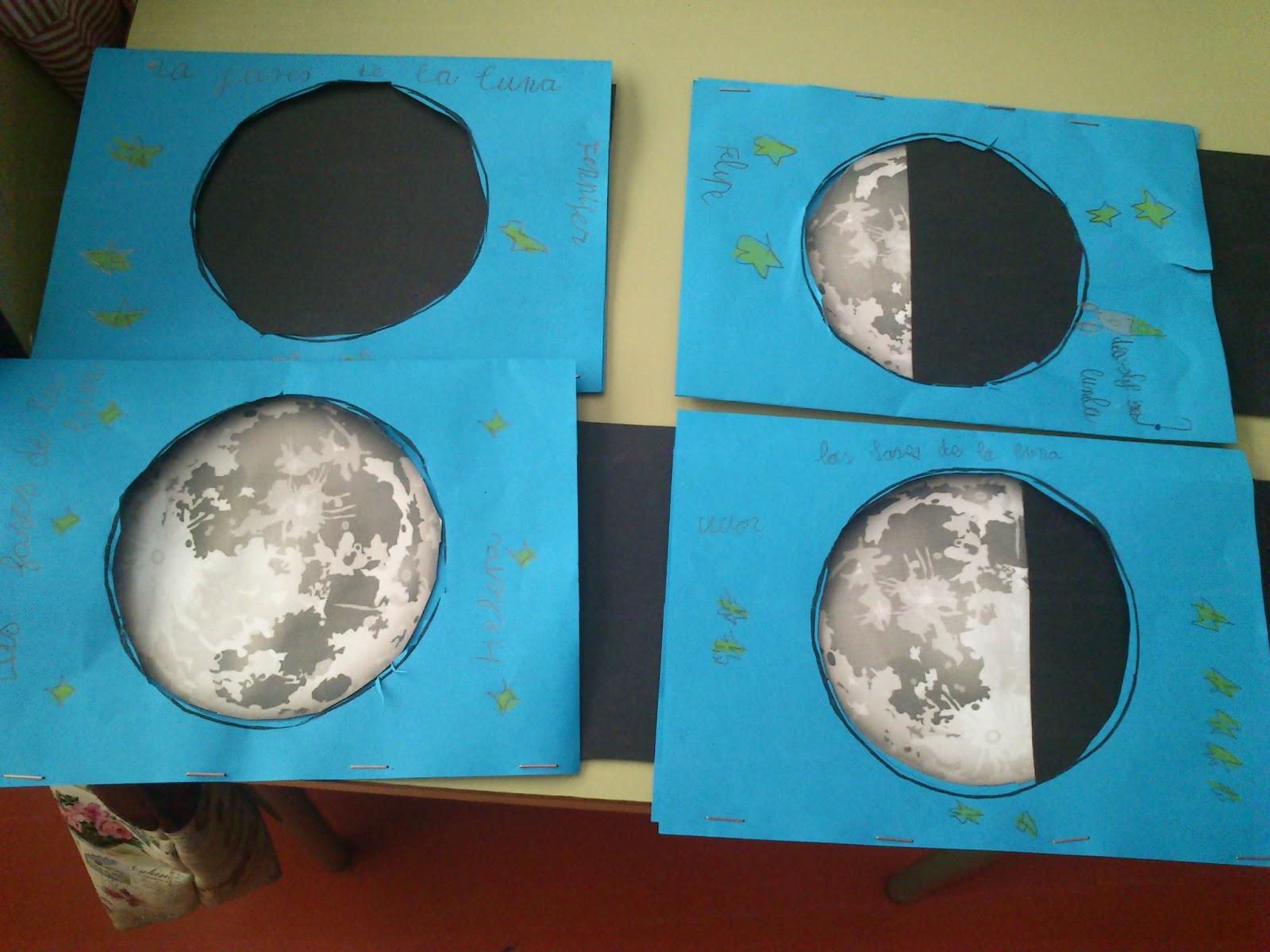 Ya Vamos Al Cole La Luna Y Sus Fases