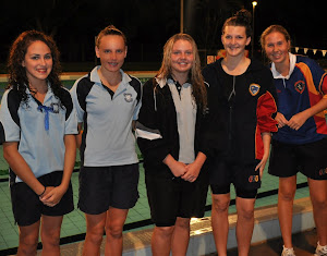 Interschool Swimming Girls Age Champions