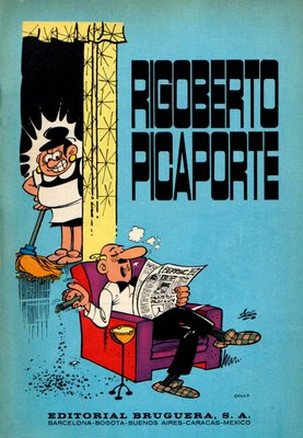 Portada de Rigoberto Picaporte solterón de mucho porte