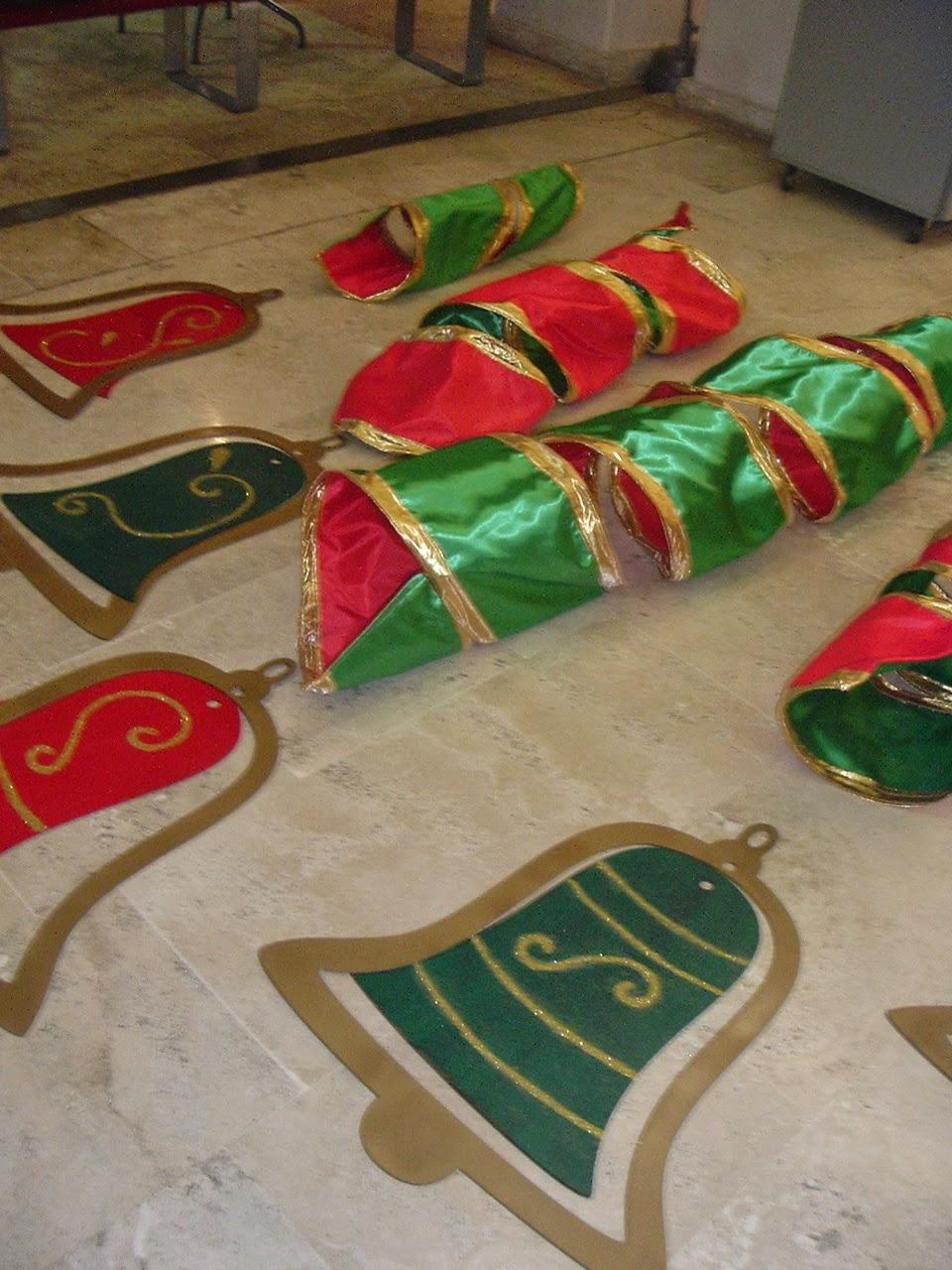 Carmin decoraciones navide as navidad 2013 villa for Decoracion jardin maternal