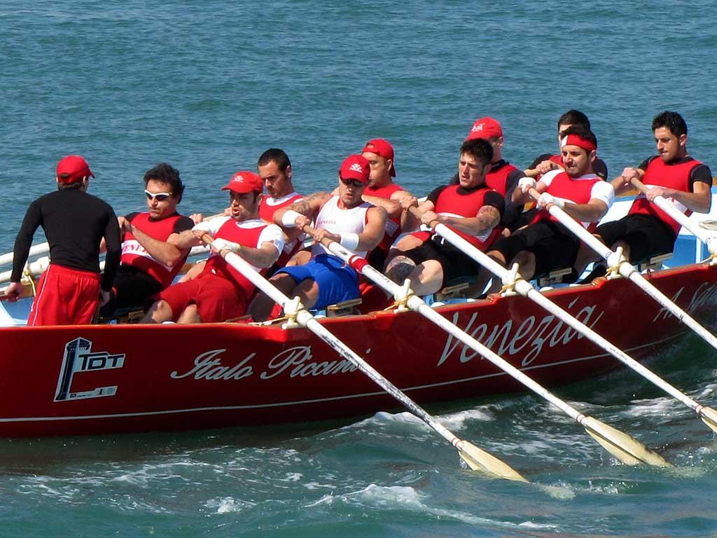 Gozzo (ten rowers) of Venezia, Trofeo D'Alesio 2011, Livorno