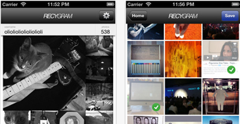 Recygram almacena tus fotos de Instagram con un solo click - www.dominioblogger.com