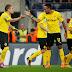 Dortmund vence bem na Bélgica, e Leverkusen derrota o Benfica em casa