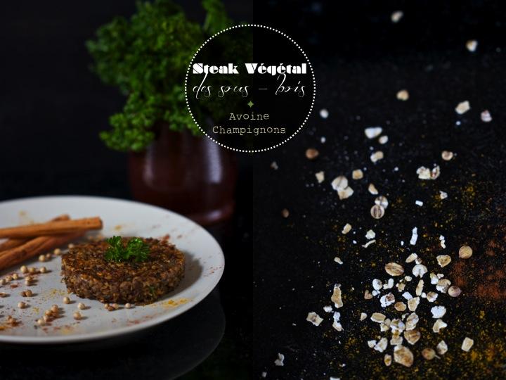 Steak v g tal des sous bois avoine et champignons for Ambiance cuisine avoine